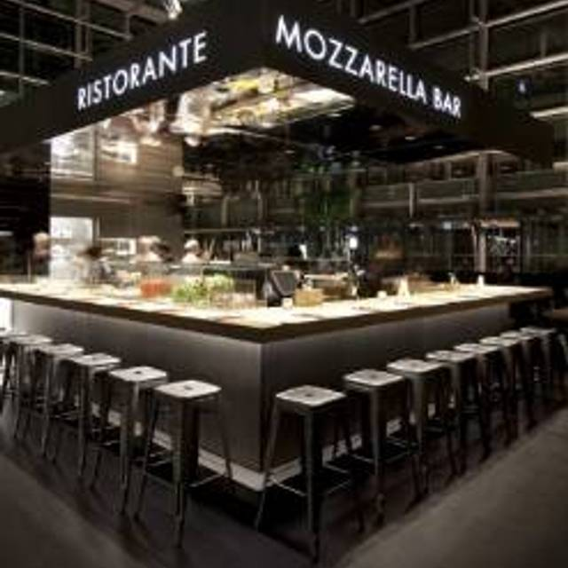 Obicà Mozzarella Bar - Canary Wharf, London