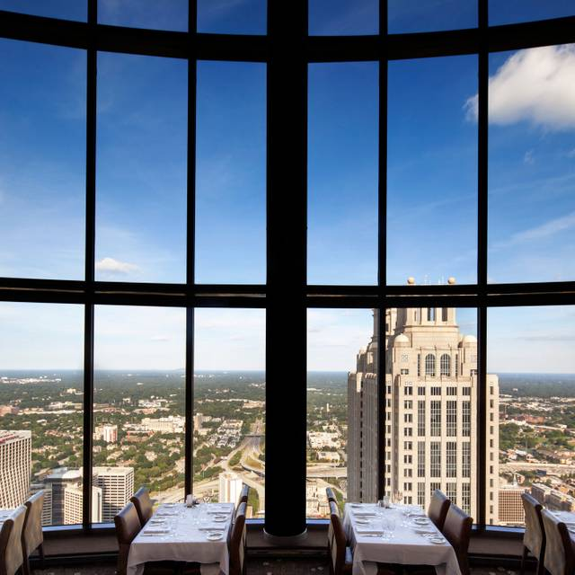 The Sun Dial Restaurant at the Westin Peachtree Plaza, Atlanta, GA