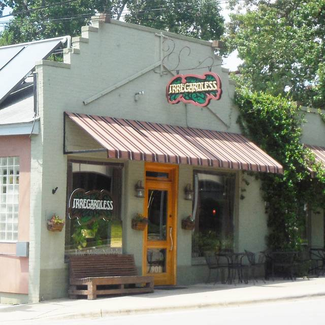 Irregardless Cafe, Raleigh, NC
