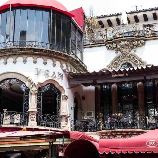 Casa Fran - Cerrado Permanentemente, Ciudad de México, CDMX