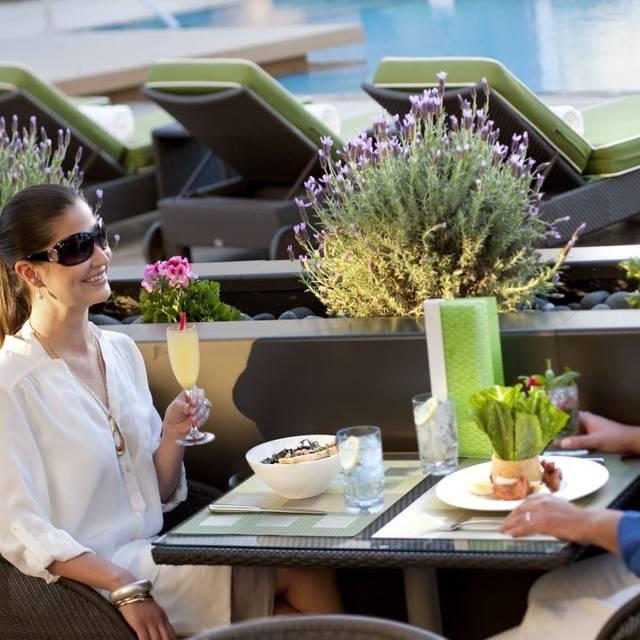 Pool Cafe & Cabanas - Mandarin Oriental, Las Vegas, Las Vegas, NV