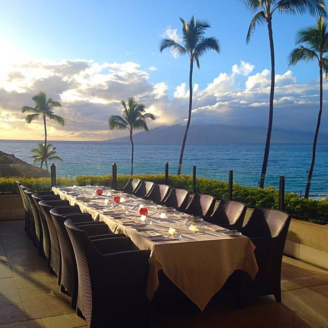 Wolfgang Puck's Spago in the Four Seasons Resort Maui, Wailea, HI