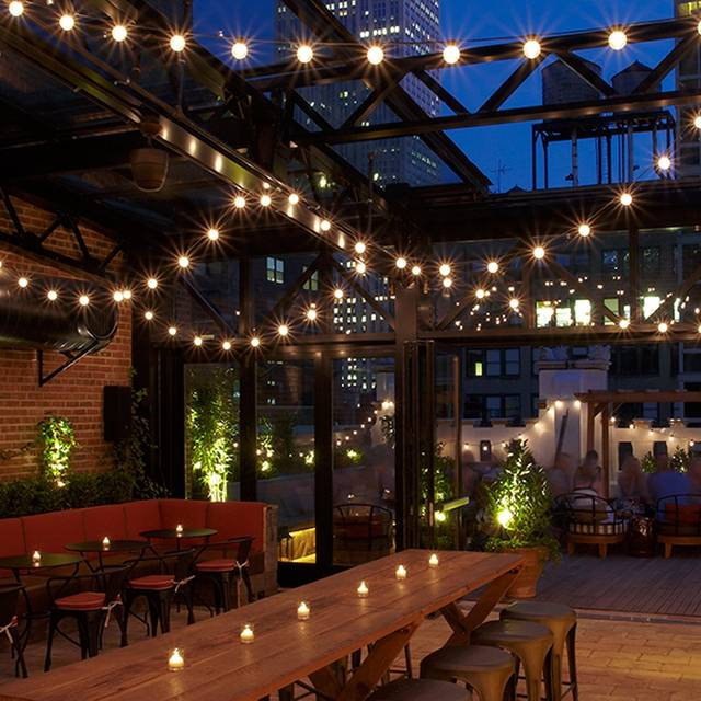 Refinery Rooftop Restaurant New York NY OpenTable