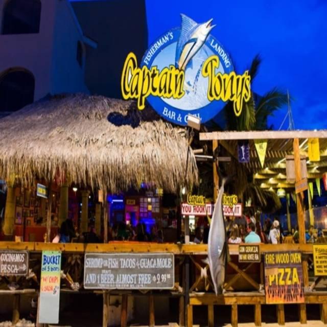 Captain Tony's, Cabo San Lucas, BCS