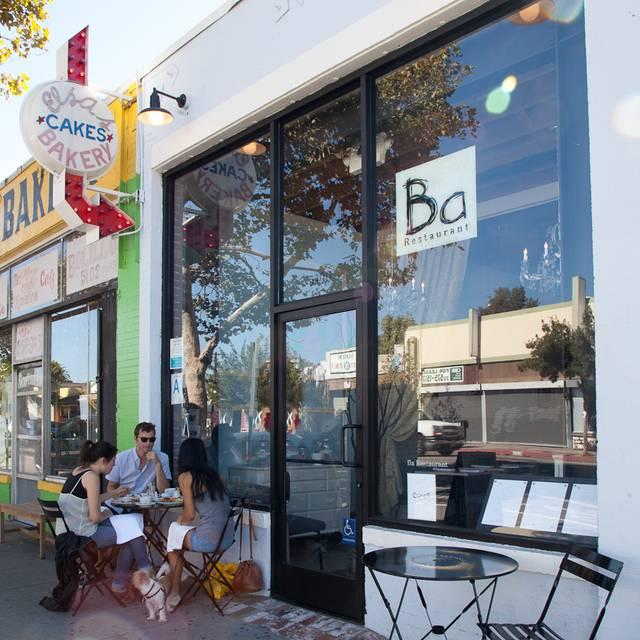 Ba Restaurant, Los Angeles, CA