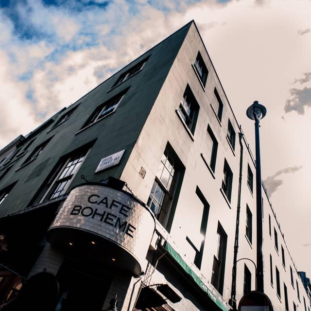 Café Boheme, London