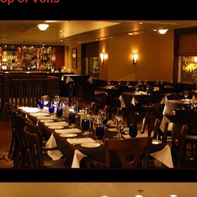 Von 39 s steakhouse oyster bar edmonton ab opentable for Best private dining rooms edmonton