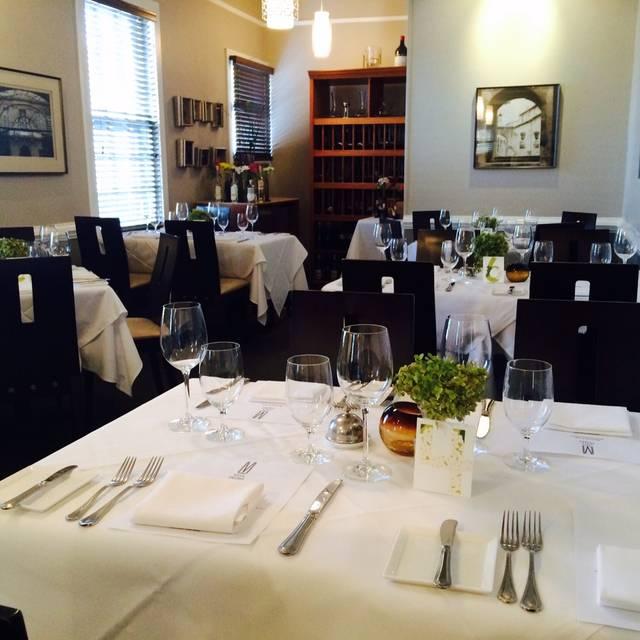 Villa Mozart Restaurant Fairfax Va Opentable