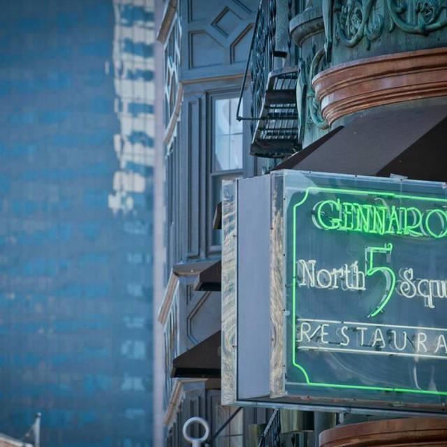 Gennaro's 5 North Square, Boston, MA