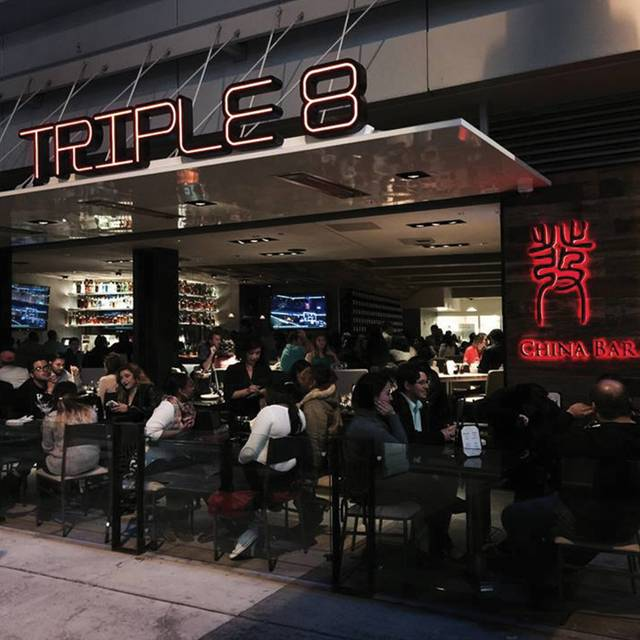 Triple 8 China Bar & Grill, Los Angeles, CA