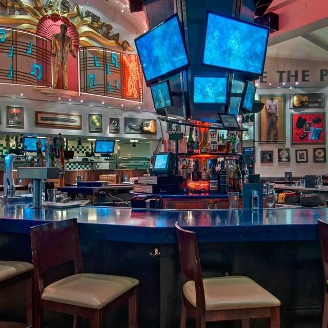 Hard Rock Cafe Las Vegas Room Service Menu