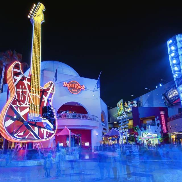 Hard Rock Cafe California Universal Citywalk City Ca