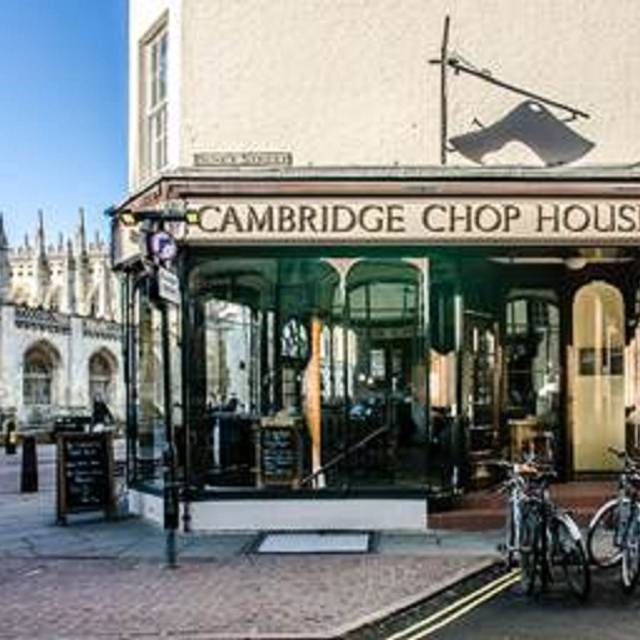 The Cambridge Chop House, Cambridge, Cambridgeshire
