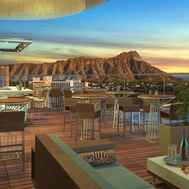 Sky Waikiki Rooftop Restaurant Honolulu Hi