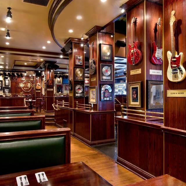Hard Rock Cafe San Diego Restaurant San Diego CA OpenTable - San diego rock and flooring
