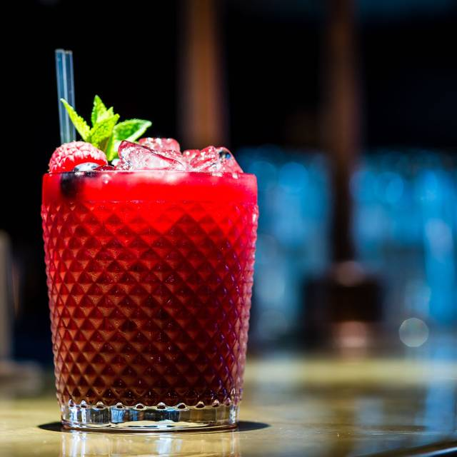 Berry Caipiroska - Chai Ki (Toddy Shop Bar), London