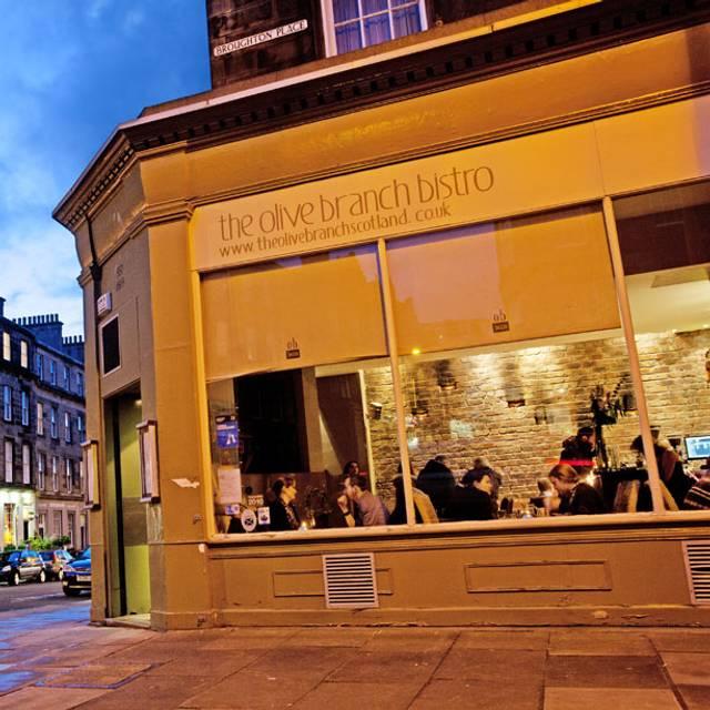 The Olive Branch Bistro, Edinburgh