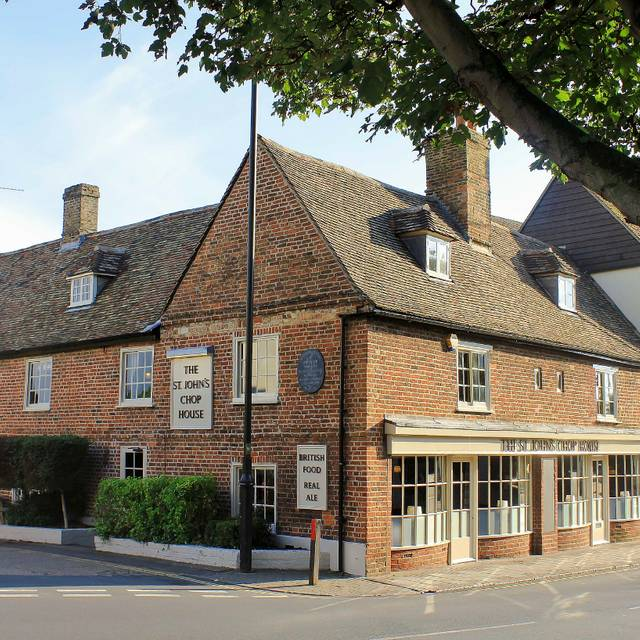 The St. John's Chop House, Cambridge, Cambridgeshire