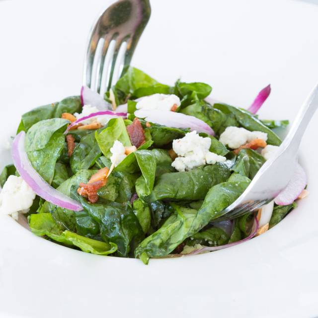 Spinach salad - Franciscan Crab Restaurant, San Francisco, CA