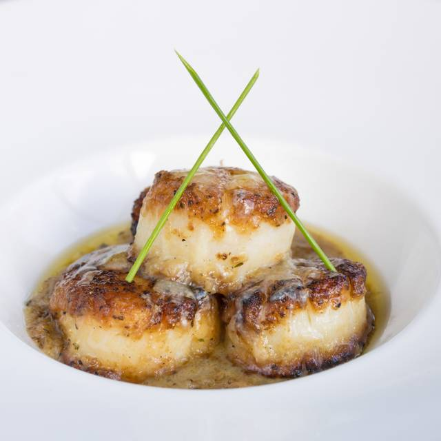 Sauteed scallops - Osso Steakhouse, San Francisco, CA