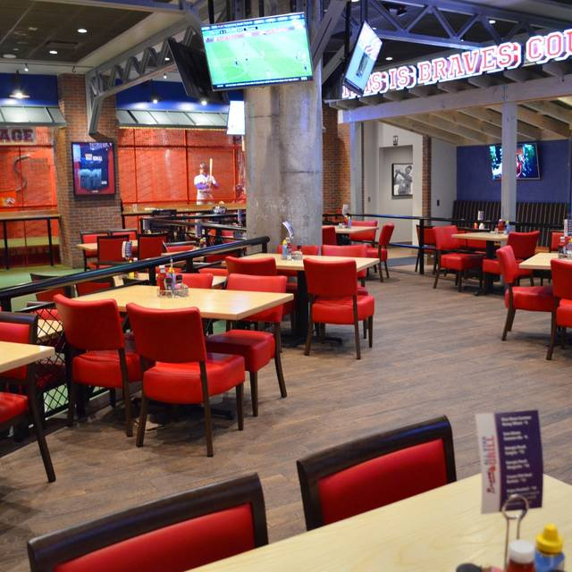 Private Dining Rooms Atlanta: Atlanta Braves All-Star Grill - Atlanta, GA