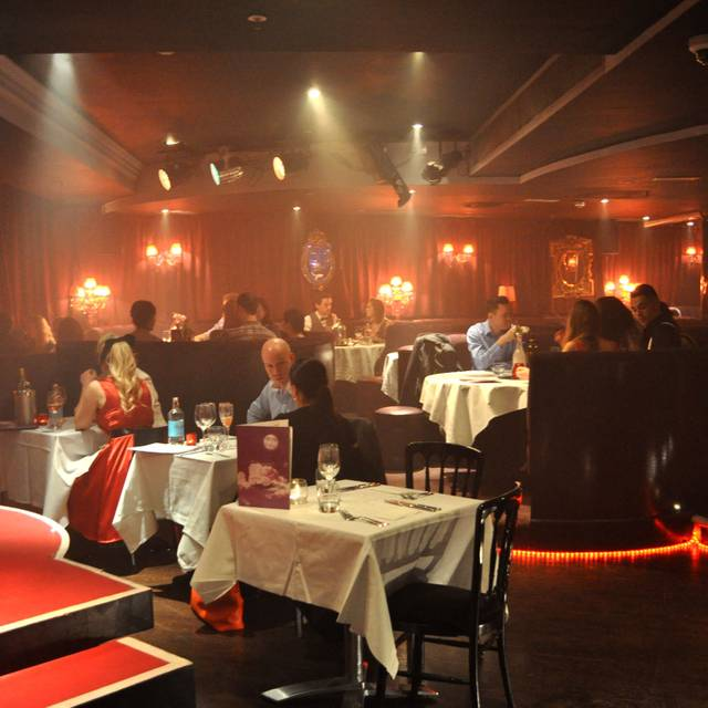 Proud Cabaret City London Opentable