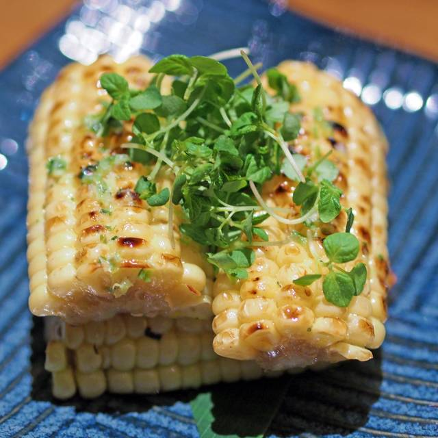 Sweet Corn with Butter - Roka Akor - Scottsdale, Scottsdale, AZ