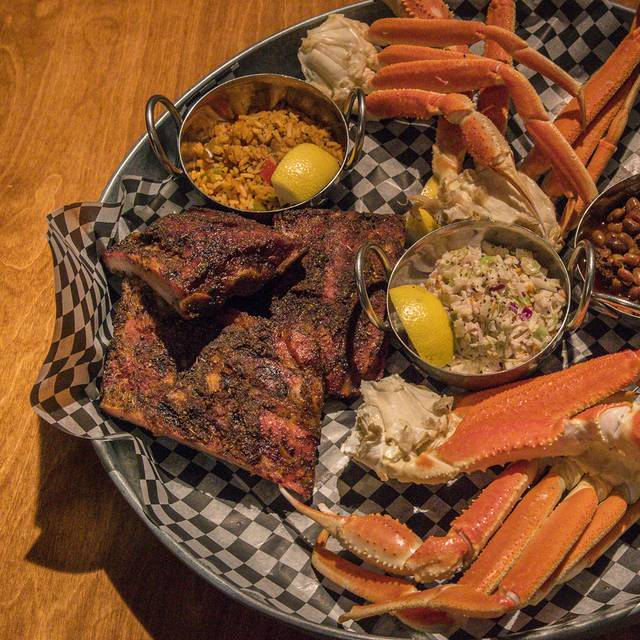 All You Can Eat - Bookers BBQ + Crab Shack, Calgary, AB