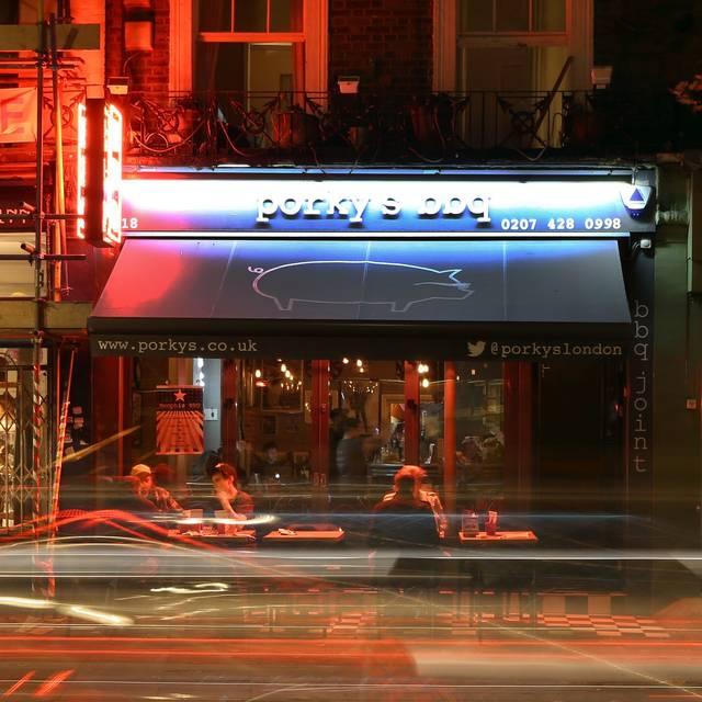 Porky's BBQ Camden, London