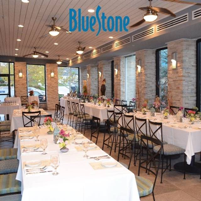 Bluestone timonium md opentable for Bluestone pricing