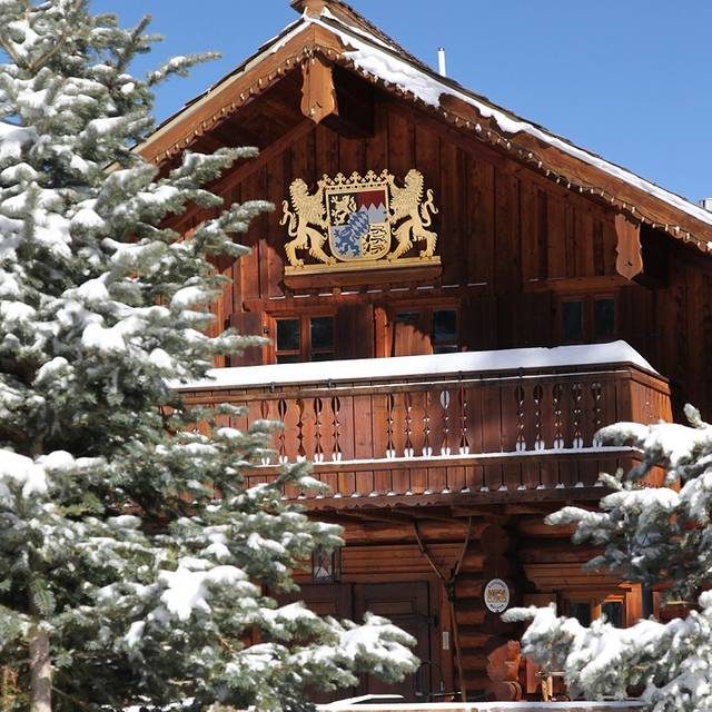 Bavarian Exterior - The Bavarian Lodge & Restaurant, Taos Ski Valley, NM