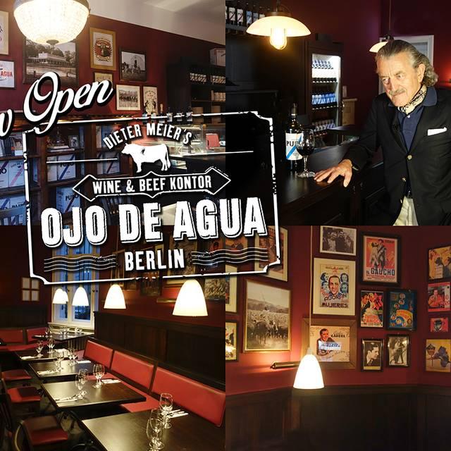 Ojo de Agua Wine & Beef Kontor, Berlin