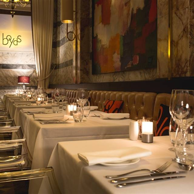 Boyds Grill & Wine Bar, London