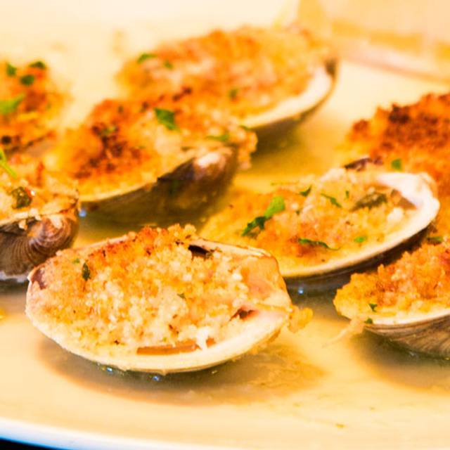 Baked Clams - Pazzo Restaurant, Red Bank, NJ