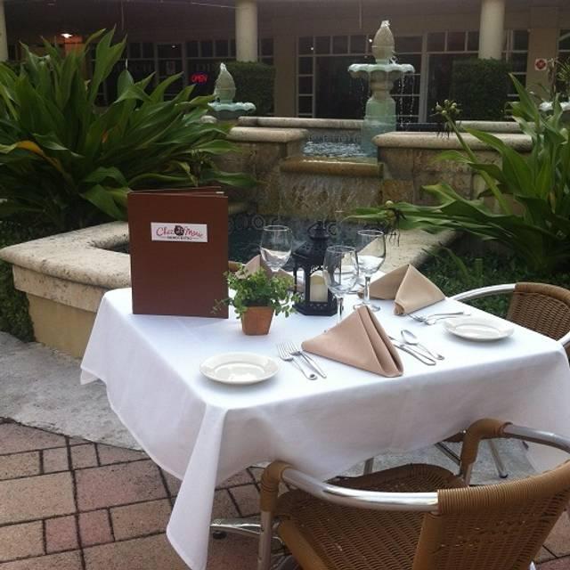 Chez marie french bistro restaurant boca raton fl for 13 american table boca raton fl