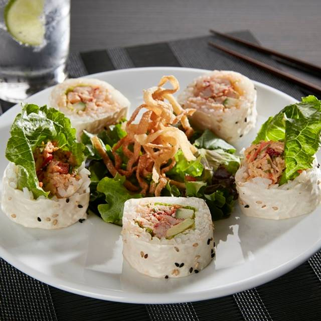 Lunch Spicy Lobster Roll Salad - RA Sushi Bar Restaurant - South Miami, Miami, FL