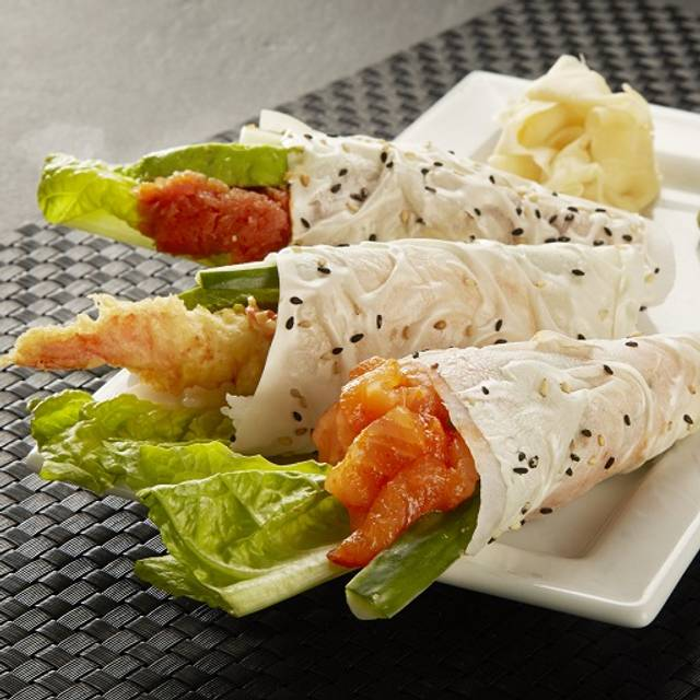 Reg Hand Rolls - RA Sushi Bar Restaurant - Pointe Orlando, Orlando, FL