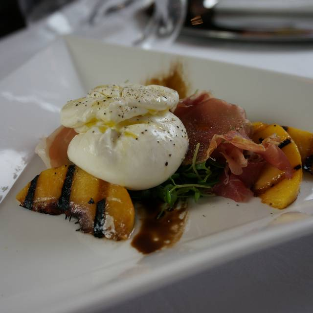 Mozzarella Peaches  - Ristorante Cavour at the Hotel Granduca, Houston, TX