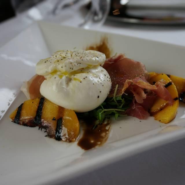Mozzarella Peaches  - Ristorante Cavour at the Hotel Granduca, Houston, TX