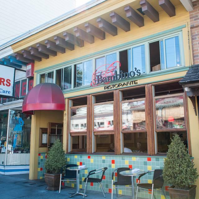 Restaurant - Bambino's Ristorante, San Francisco, CA