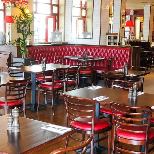Cafe Rouge Greenwich Breakfast Menu