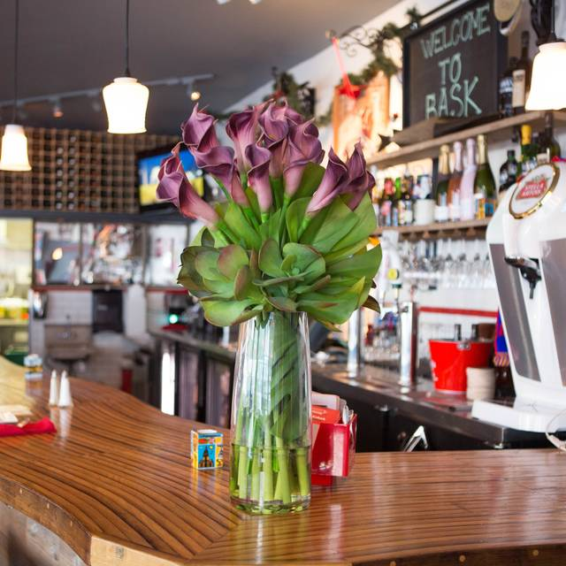Bar Flowers - Bask, San Francisco, CA
