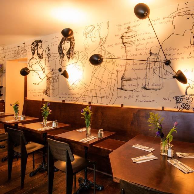 les enfants de boheme restaurant new york ny opentable. Black Bedroom Furniture Sets. Home Design Ideas