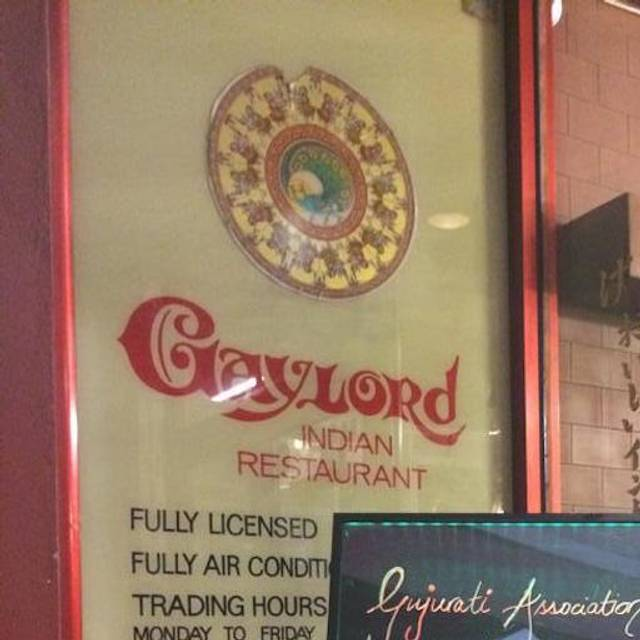 Gaylord Indian Restaurant, Melbourne, AU-VIC