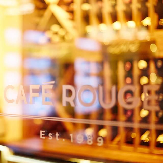 Cafe Rouge Breakfast Menu Greenwich