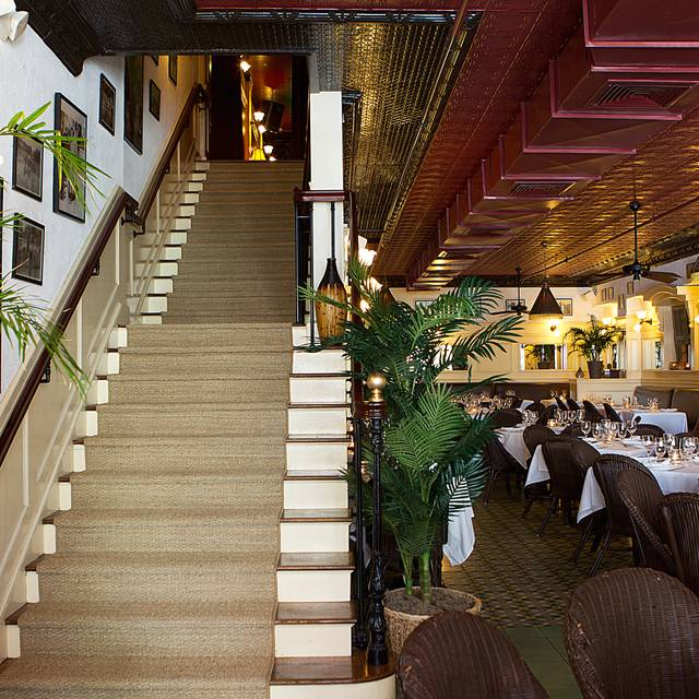 Stairwell And Dining Room - Le Colonial - SF, San Francisco, CA
