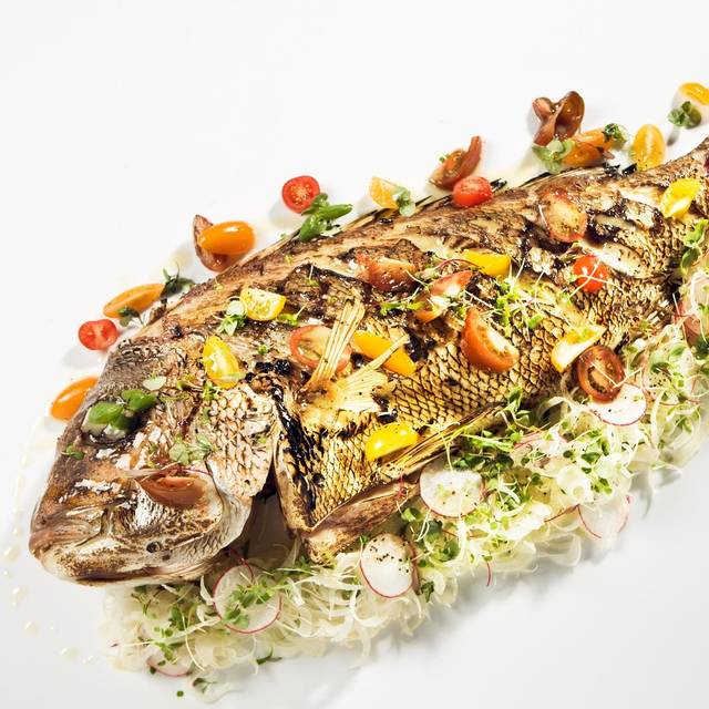 Whole Grilled Fish To Share Snapper - The Atlantic Restaurant, Southbank, AU-VIC