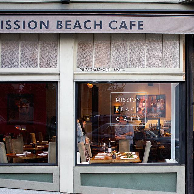 Restaurant - Mission Beach Cafe, San Francisco, CA