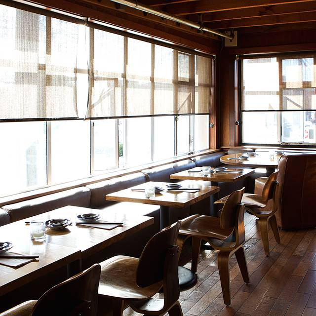 Upstairs Dining - Nihon Whisky Lounge, San Francisco, CA