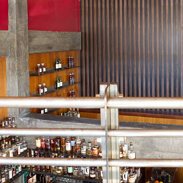 View From Upstairs - Nihon Whisky Lounge, San Francisco, CA
